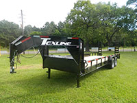 Equipment Traliers Texline Trailers Brands- Patriot Bobcat, Texcline Bobcat, Stealth Bobcat