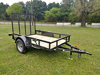 Texline Trailers Single Axle Trailers Brands - Patriot, Texline, Stealth