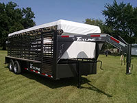 Texline Cattle, Livestock, Horse, Mini stock, Trailers Brands - Mini Stock, Texas Roper, Gooseneck