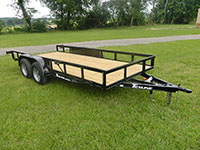 Texline Tandem Axle Trailers Brands - Patriot, Texline, Stealth